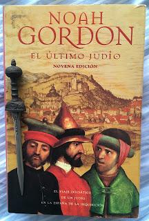 Portada del libro El último judío, de Noah Gordon