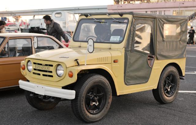 Mobil Suzuki Jimny Generasi Pertama - Suzuki Jimny LJ10