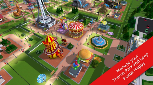 Nurifai ™: RollerCoaster Tycoon Touch MOD APK 1.5.36 Unlimited Money For Android