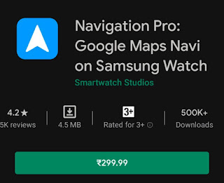 Navigation Pro: Google Maps Navi on Samsung Watch v11.11 Paid
