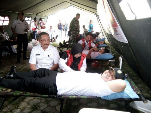 Wabup Ajak Masyarakat Untuk Gemar Donor Dara