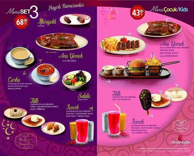 elmacıoğlu et lokantası kayseri ramazan iftar menüleri kayseri iftar yerleri