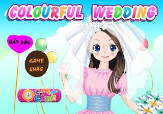Chơi game cô dâu tuổi teen thú vị