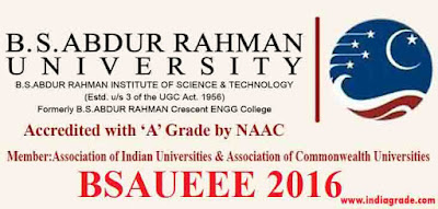 BSAUEEE 2016 Application Form