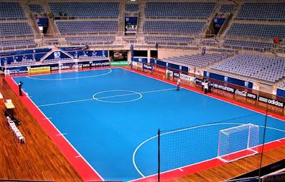Ukuran Lapangan Futsal Pertandingan Internasional