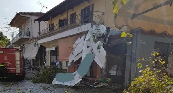 Σέρρες: Πώς σημειώθηκε το αεροπορικό ατύχημα – Σωτήριος για τον πιλότο ένας πλάτανος