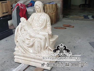 Patung Pieta, Patung Malaikat Marmer, Pengrajin Patung Marmer Tulungagung