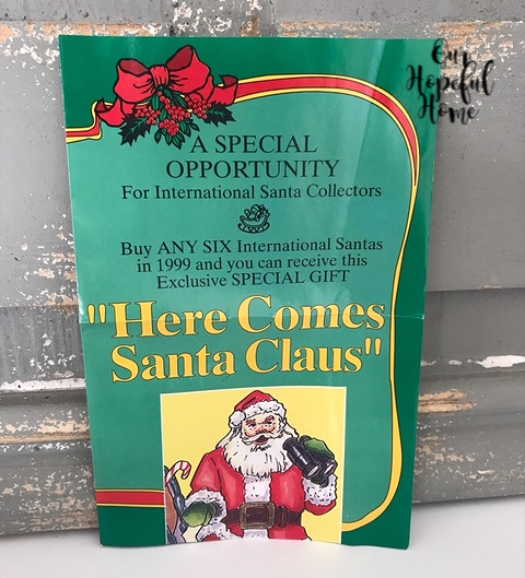 International Santa Claus Collection brochure