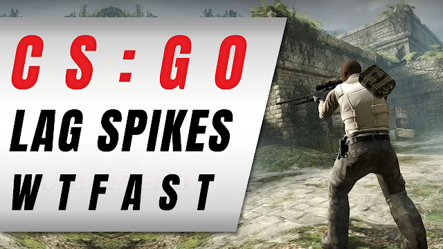 CSGO, Really Bad Lag Spikes And WTFast! - KABALYERO (Game