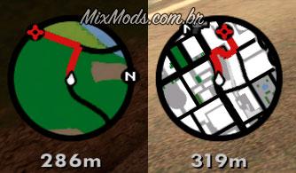 GTA SAN ANDREAS GPS PARA MOD