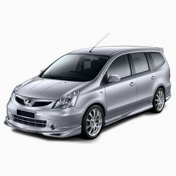 Body Kit Nissan Grand Livina Impul 2 2006-2012