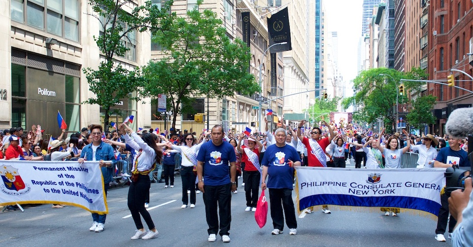 Balitang New York : Annual Parade in Manhattan Launches