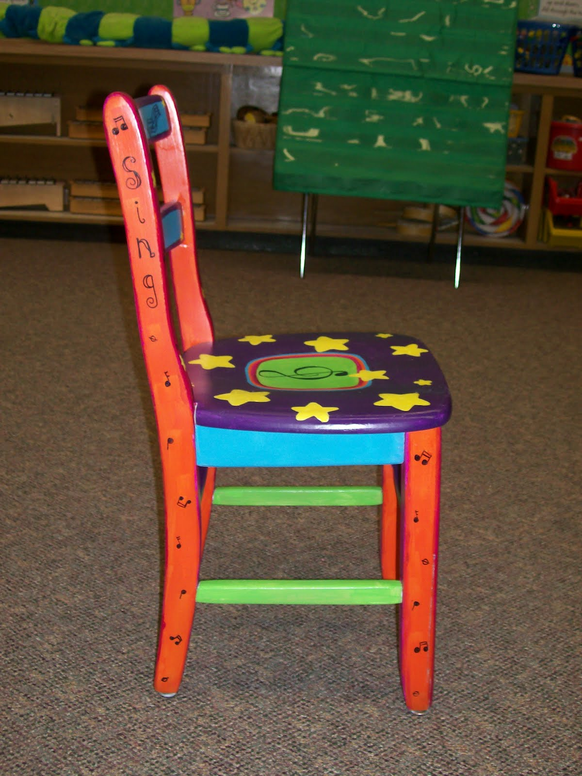 Music Chair Made For Music Teachers Setting Up A Music Classroom