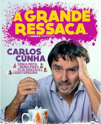 Carlos Cunha faz minitemporada em Albufeira com «A Grande Ressaca»