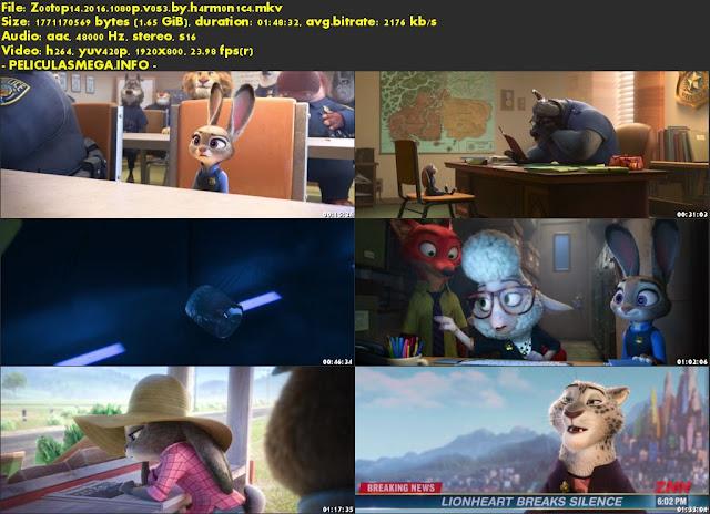 Descargar Zootopia Subtitulado por MEGA.