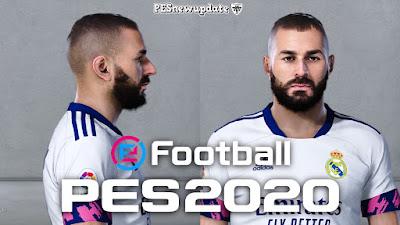 PES 2020 Faces Karim Benzema by So PES