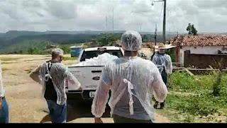 Na contra mão de Guarabira em Pilões prefeitura distribui peixe nas comunidades carentes