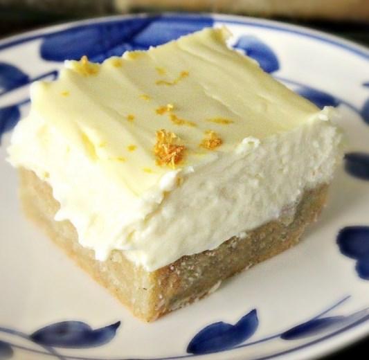 Low Carb Lemon Cheesecake Bars #healthydiet #paleo