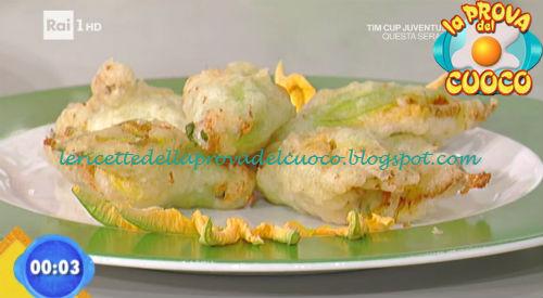 Fiori di zucca ripieni di burrata ricetta Rossi da Prova del Cuoco