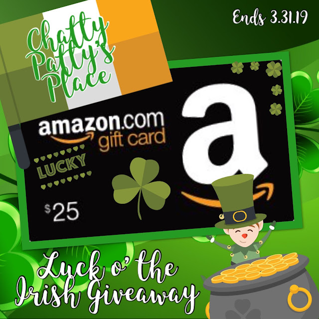 Chatty Patty's Place Luck of the Irish Giveaway