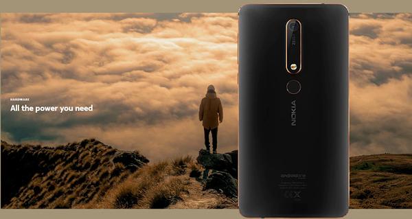 Nokia 6.1 (3+32) a bom preço vindo de França