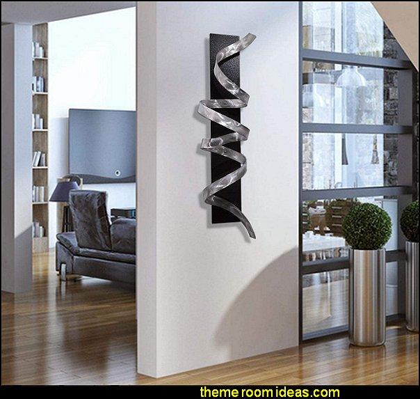 New York Style loft living - modern contemporary decorating ideas city living decorating ideas, city themed decor, edgy room decor, urban bedroom ideas, City theme bedrooms