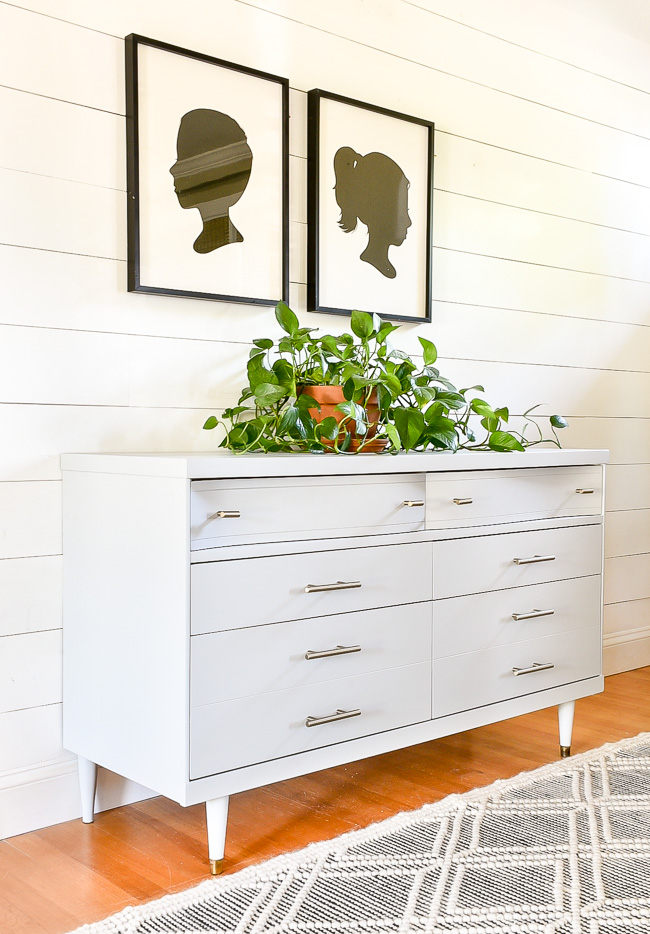 How to easily fill and replace old dresser hardware