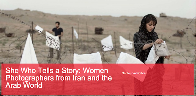 She who tells a story: women photographers from Iran and the Arab world