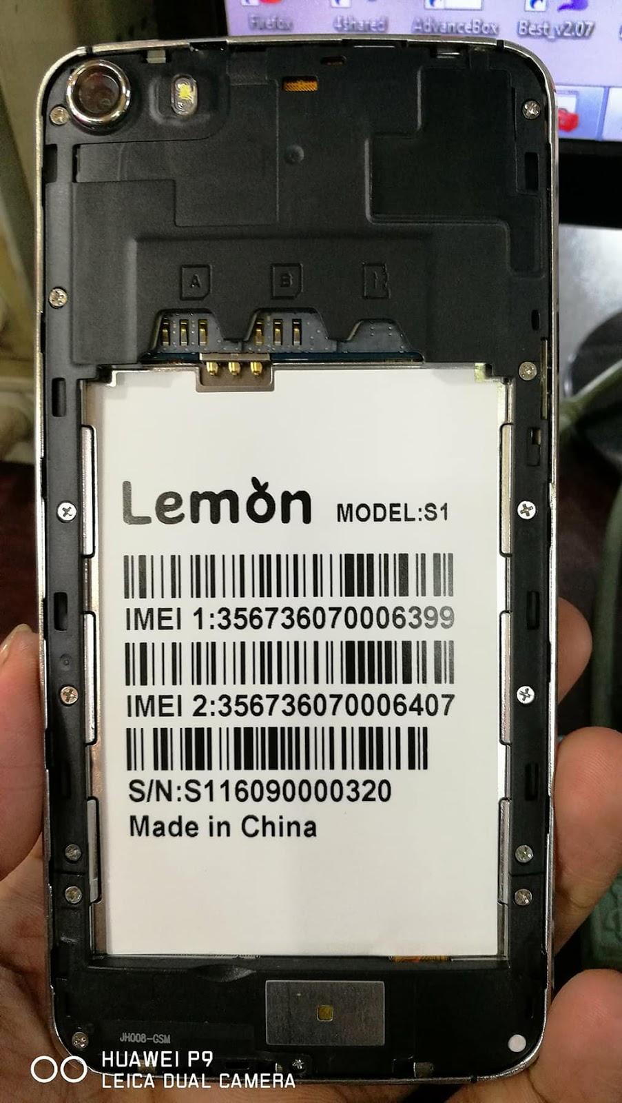 Lemon S1 Flash File
