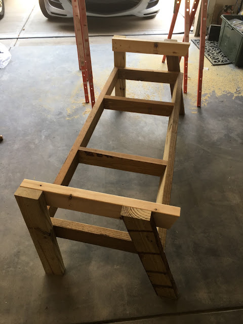 mountain cottage, wood bench, 2 seat bench, double chair bench, wood project