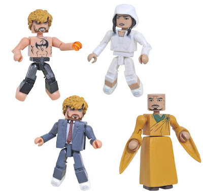 Marvel's Iron Fist Television Series Minimates Box Set by Diamond Select Toys