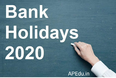 Bank holidays 2020: RBI announces bank holidays