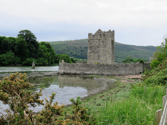 Narrow Water Keep near the mouth of Carlingford Lough on the Newry River