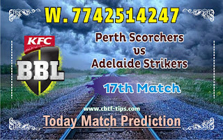 Adelaide vs Perth 17th Match Who will win Today BBL T20
