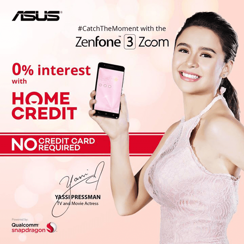 Asus ZenFone 3 Zoom Now Available At Home Credit's 0% Program For 9 Months!