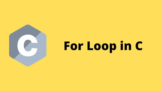 HackerRank For Loop in C programming solution