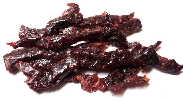 sweet garlic beef jerky