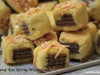 Resep dan cara membuat Kue Kering Wafer Enak