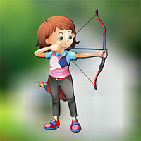 Play AvmGames Archery Girl Esc…