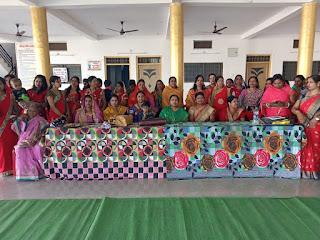 साहू समाज महिला संगठन ने आयोजित किया हल्दी कुमकुम कार्यक्रम