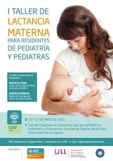 I Taller de Lactancia Materna para Residentes de Pediatría y Pediatras