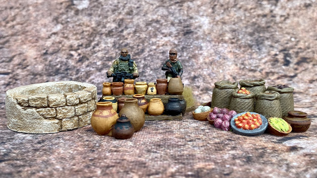 28mm Scatter Terrain from Fogou Models for Western Africa, Mali and the Sahel