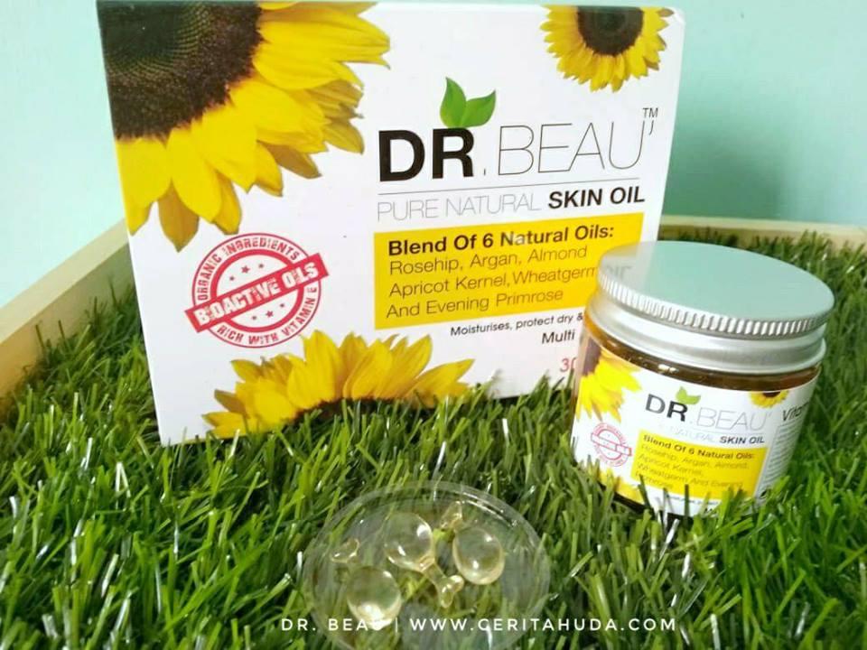 Serum Dr Beau merawat kulit dalam masa 24 jam!