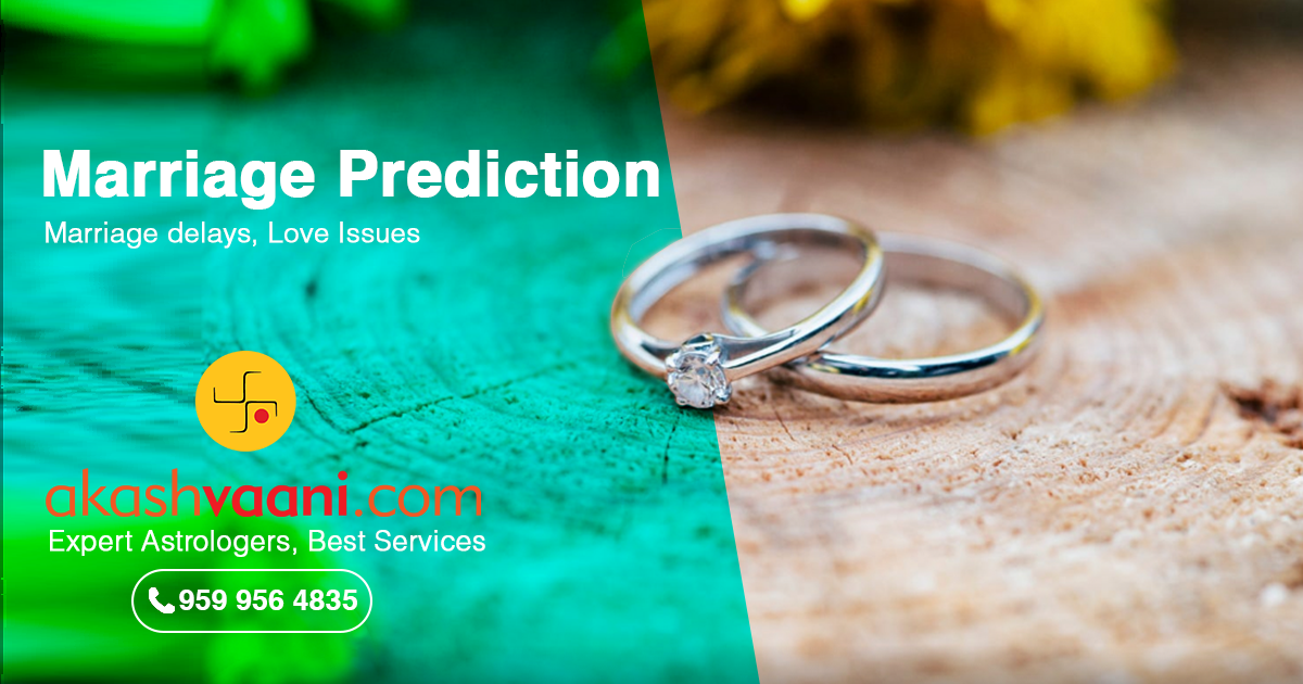 Marriage Prediction, Marriage Astrology, Marriage