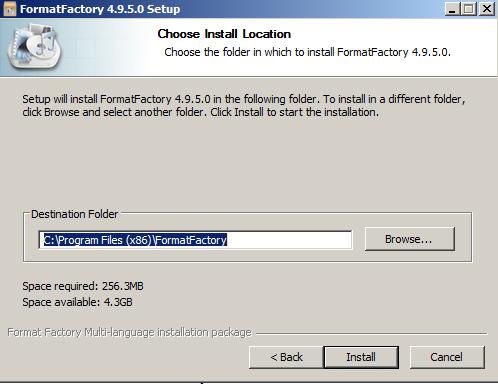 Hướng dẫn cách cài đặt Format Factory nhanh Trên PC Win 7 a