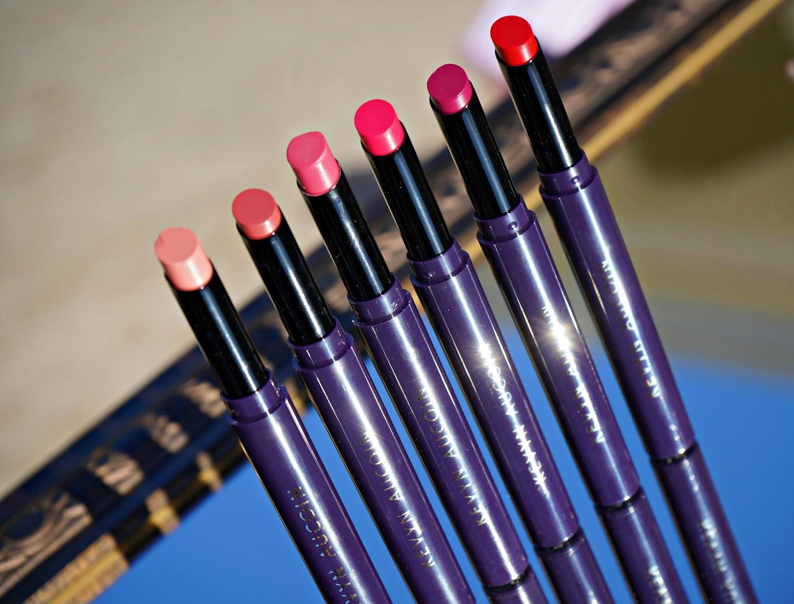 Kevyn Aucoin Unforgettable Lipstick swatches