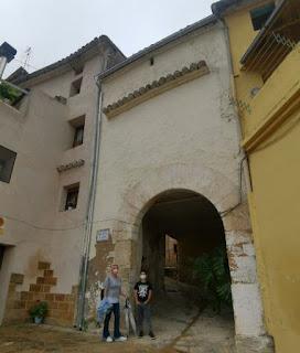 Casco antiguo de Bocairent, provincia de Valencia.