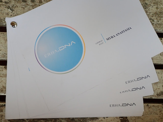 skin journal erha dna