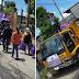 Quezon City relief packs, pinandirihan matapos isakay sa 'truck ng basura'