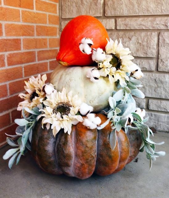 Pumpkin Porch Cake